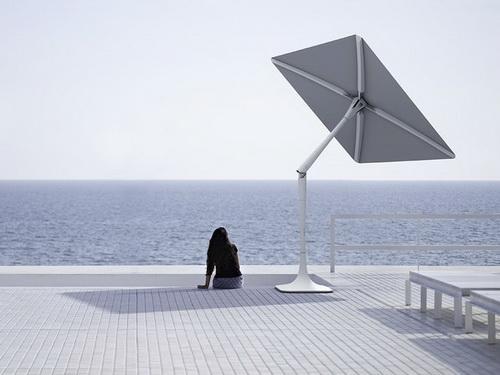 Itt az új csoda: napelemes, intelligens napernyő